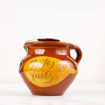 250 g de miel ecológica Galicia en olla artesana de cerámica